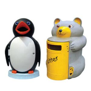 Miś i pingwin