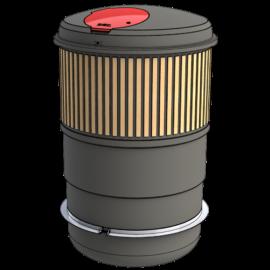 Zweva ZBin Semi Underground waste container